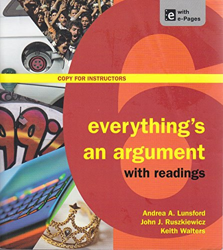 9781457623929: Everything's an Argument with Readings