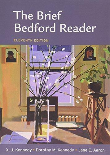 9781457627552: Brief Bedford Reader 11e & Pocket Style Manual 6e