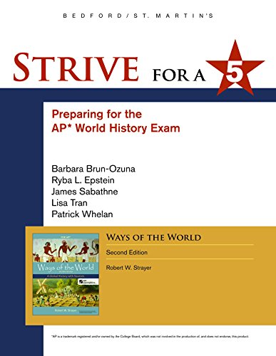 Strive for a 5 for Ways of: Strayer, Robert W.