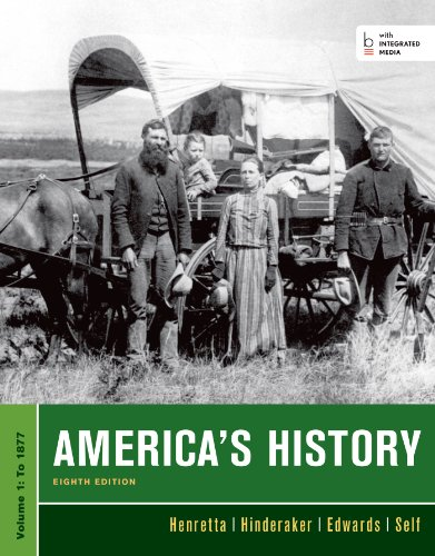 9781457628160: America's History, Volume I: 1