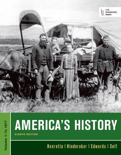 America's History, Volume I: Henretta, James A.;