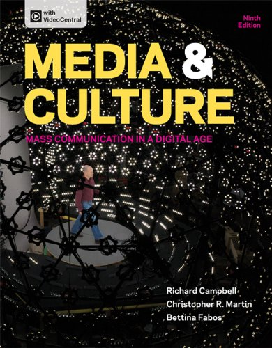 9781457628313: Media & Culture: Mass Communication in a Digital Age