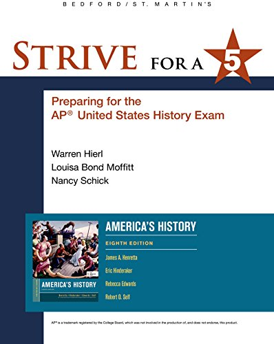 Strive for a 5 for America's History: James A. Henretta;