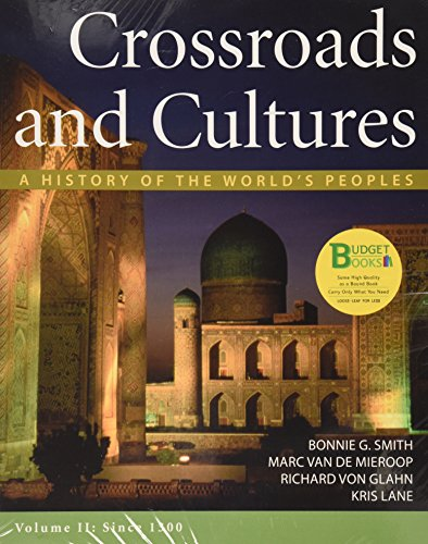 9781457629501: Loose-leaf Version of Crossroads and Cultures V2 & Sources of Crossroads and Cultures V2