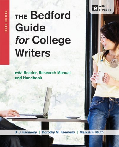 9781457630767: The Bedford Guide for College Writers with Reader, Research Manual, and Handbook