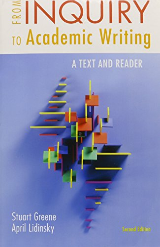 9781457632730: From Inquiry to Academic Writing: A Text and Reader 2e & Pocket Style Manual 6e