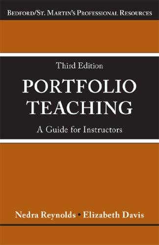 9781457632860: Portfolio Teaching: A Guide for Instructors (Bedford E-portfolio)