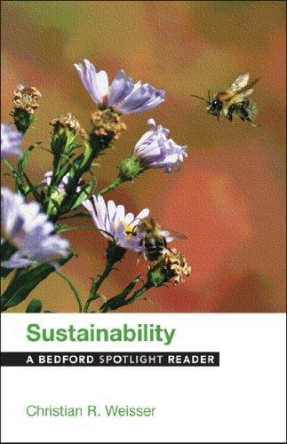 9781457634314: Sustainability: A Bedford Spotlight Reader