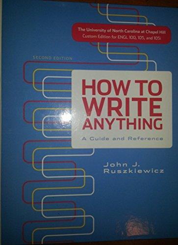 HOW TO WRITE ANYTHING >CUSTOM<