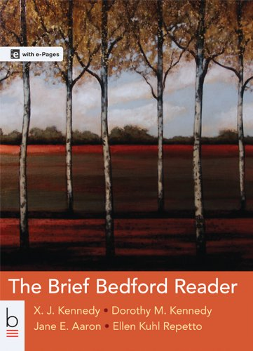 The Brief Bedford Reader (Evaluation Copy): X. J. Kennedy,