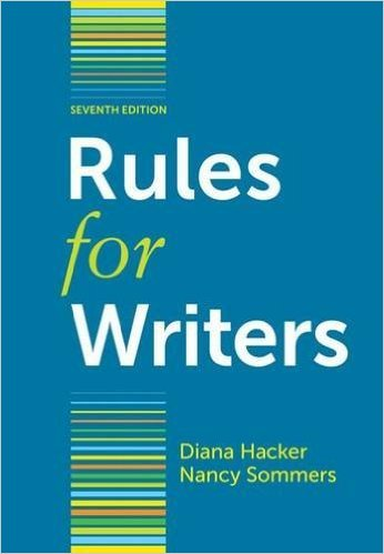 9781457637513: Rules for Writers; SUNY Oswego Edition