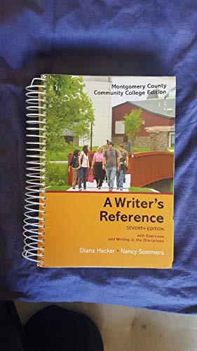 A Writer's Reference Seventh Edition with Exercises: Diana Hacker, Nancy