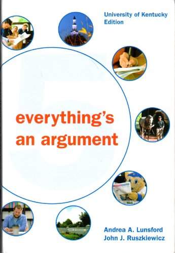 9781457638930: Everything's an Argument