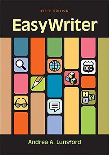 EasyWriter: Lunsford, Andrea A.