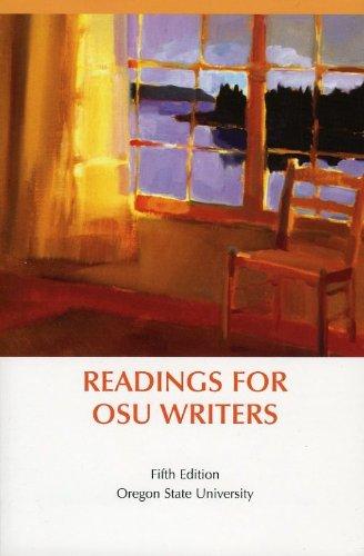 Readings for OSU Writers (Oregon State Universtiy): Bedford