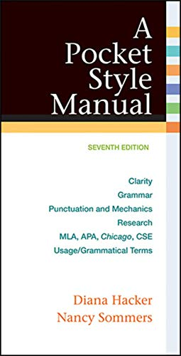 9781457642326: A Pocket Style Manual, with 2016 MLA Update