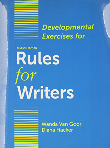 9781457642531: Rules for Writers 7e Tab Version with Writing about Literature & Developmental Exercises & CompClass