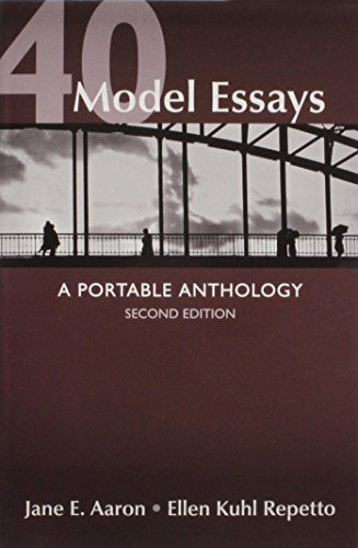 9781457643002: 40 Model Essays 2e & Writing and Revising with 2009 MLA and 2010 APA Updates