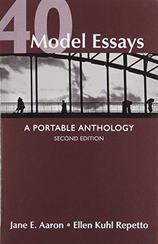 9781457643064: 40 Model Essays 2e & Re:Writing Plus (Access Card)