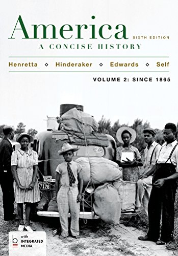 9781457648649: America: A Concise History, Volume 2