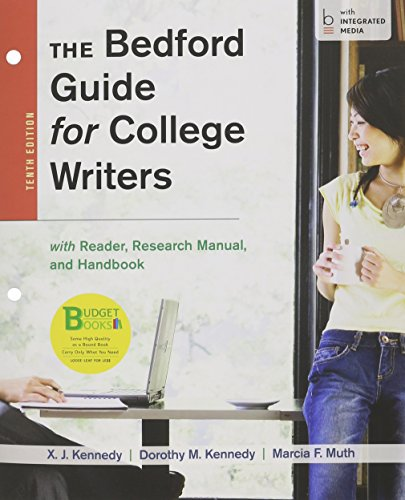 9781457649042: Loose-leaf Version for The Bedford Guide for College Writers with Reader, Research Manual, and Handbook