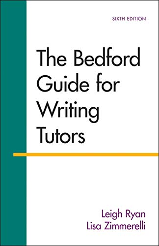 9781457650727: The Bedford Guide for Writing Tutors