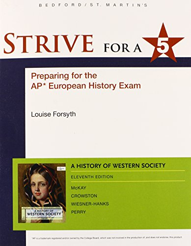 9781457652684: Strive for a 5 for A History of Western Society