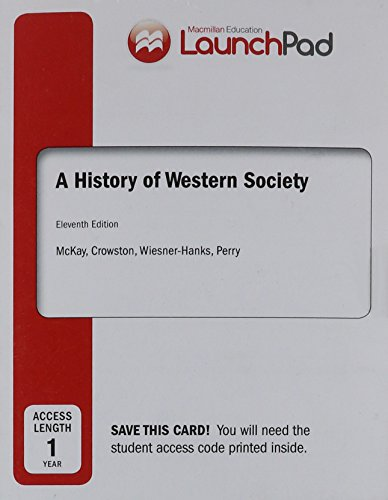 9781457653094: LaunchPad for A History of Western Society, Combined Volume (Twelve Month Access)