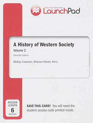 9781457653131: LaunchPad for A History of Western Society, Volume II (Six Month Access)