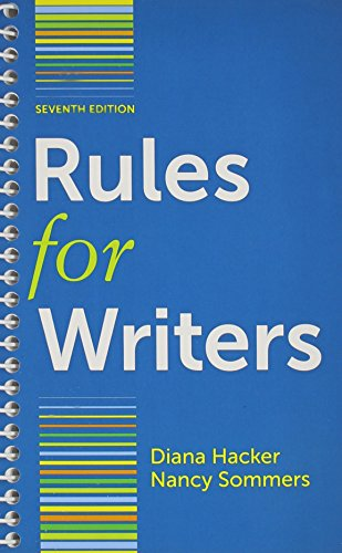 9781457653537: Rules for Writers 7e & LearningCurve for Rules for Writers 7e (Access Card)