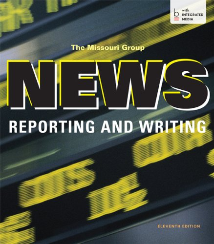 News Reporting and Writing: Missouri Group