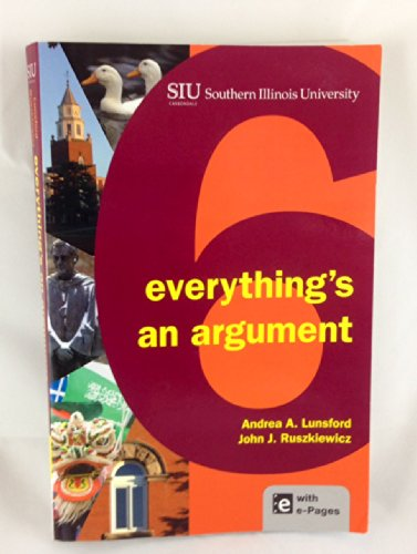 everythings an argument 6th