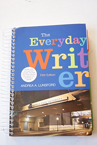 9781457653858: The Everyday Writer (Georgia State University Custom)