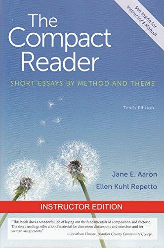 9781457653940: I.E. COMPACT READER 10TH.ED. AARON