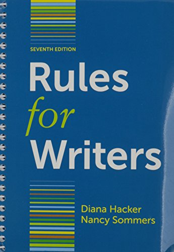 9781457657405: Everything's an Argument, 6th Ed. + Rules for Writers With Writing About Literature Tabbed Version, 7th Ed.