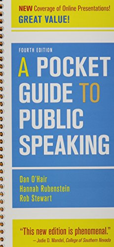 9781319055349 pocket guide to public speaking 5e launchpad six 9781457658334 pocket guide to public speaking 4e speech central plus access card fandeluxe Image collections