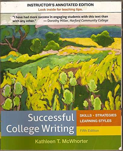 9781457659065: Successful College Writing Fifth Edition