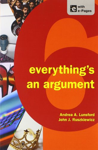 9781457661303: Writer's Reference with Exercises 7e & Everything's an Argument 6e