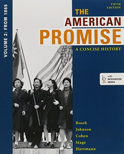 9781457666278: American Promise, A Concise History 5e V2 & Reading the American Past 5e V2