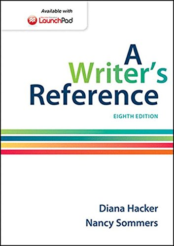 9781457666766: A Writer's Reference with 2016 MLA Update
