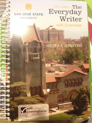 9781457667121: The Everyday Writer (5th Edition) (Special Edition: San Jose State University)