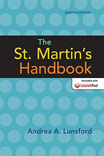 9781457667268: The St. Martin's Handbook