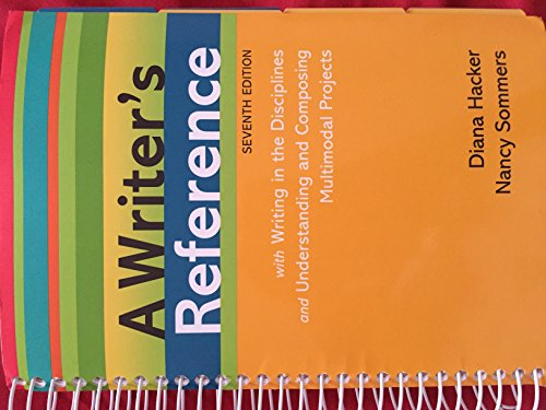A Writer's Reference with Writing in the Disciplines and Understanding and Composing ...
