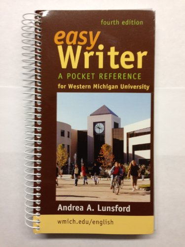 Easy Writer, A Pocket Reference for Western: Andrea A. Lunsford