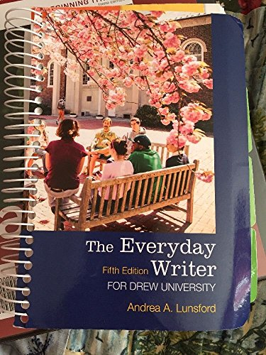 9781457671821: The Everyday Writer (Fifth Edition) (Drew University)