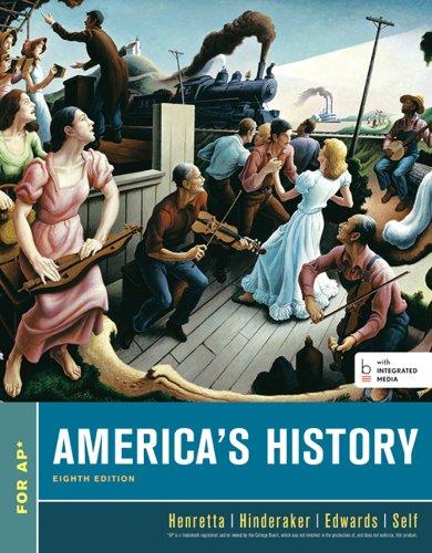 9781457673825: America's History, High School Edition