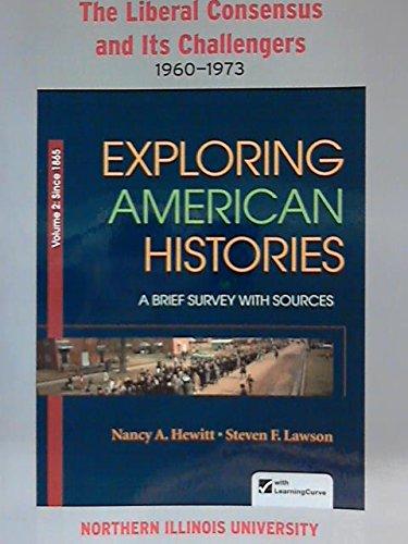 Exploring American Histories /Custom: n/a