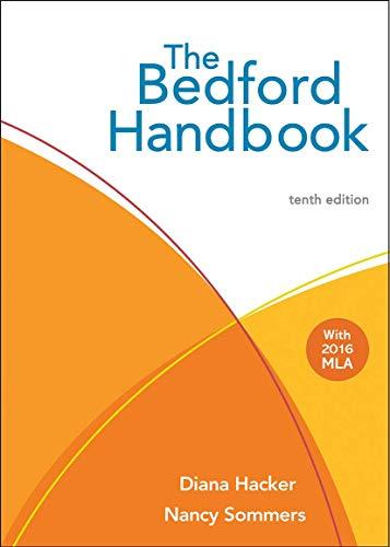 9781457683039: The Bedford Handbook