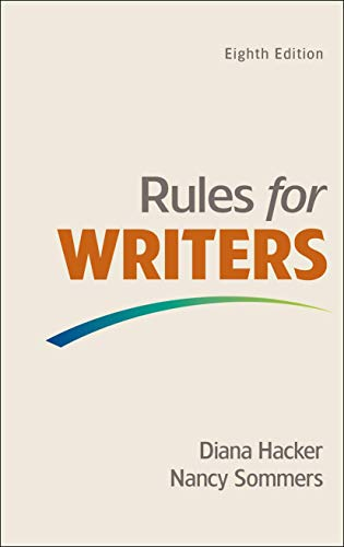 9781457683046 rules for writers abebooks diana hacker nancy 9781457683046 rules for writers fandeluxe Choice Image