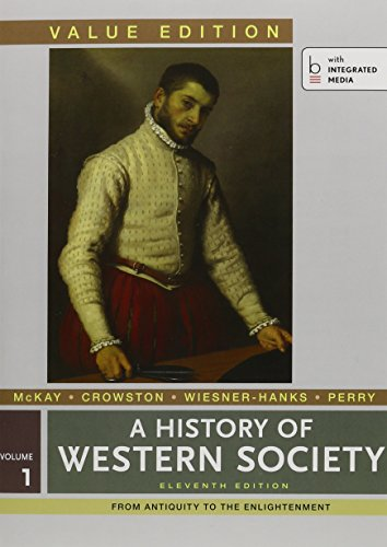 9781457683572: History of Western Society, Value Edition V1 & LaunchPad for A History of Western Society 11e V1 (Access Card)